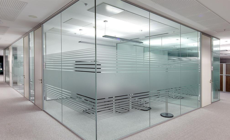 best glass partition in flate, home, office